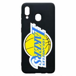 Чехол для Samsung A20 Los Angeles Lakers
