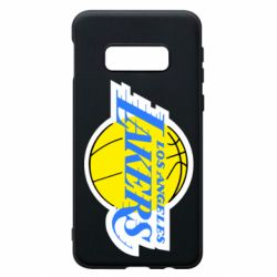 Чехол для Samsung S10e Los Angeles Lakers