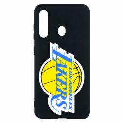 Чехол для Samsung M40 Los Angeles Lakers