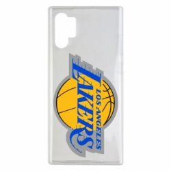 Чехол для Samsung Note 10 Plus Los Angeles Lakers