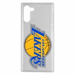 Чехол для Samsung Note 10 Los Angeles Lakers