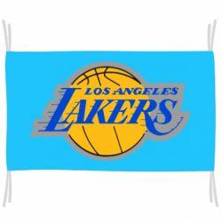 Флаг Los Angeles Lakers
