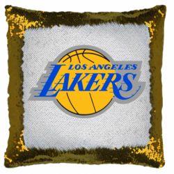 Подушка-хамелеон Los Angeles Lakers