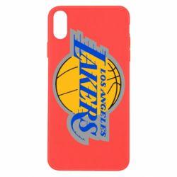 Чехол для iPhone X/Xs Los Angeles Lakers