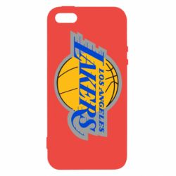 Чехол для iPhone5/5S/SE Los Angeles Lakers - FatLine