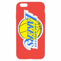 Чехол для iPhone 6/6S Los Angeles Lakers - FatLine