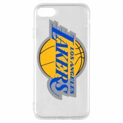 Чехол для iPhone 8 Los Angeles Lakers