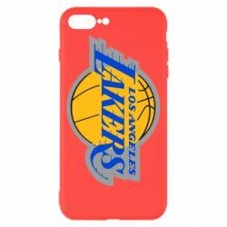 Чехол для iPhone 8 Plus Los Angeles Lakers