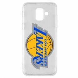 Чохол для Samsung A6 2018 Los Angeles Lakers