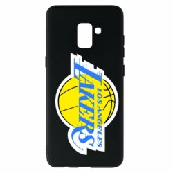 Чохол для Samsung A8+ 2018 Los Angeles Lakers