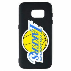 Чехол для Samsung S7 Los Angeles Lakers