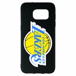 Чехол для Samsung S7 EDGE Los Angeles Lakers
