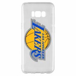 Чехол для Samsung S8+ Los Angeles Lakers