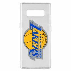 Чехол для Samsung Note 8 Los Angeles Lakers