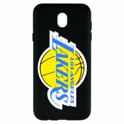 Чехол для Samsung J7 2017 Los Angeles Lakers