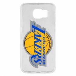Чехол для Samsung S6 Los Angeles Lakers