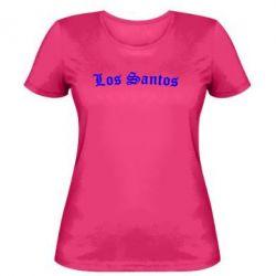 Женская футболка Los Santos - FatLine