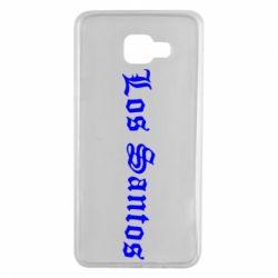 Чохол для Samsung A7 2016 Los Santos