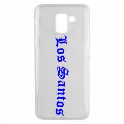Чохол для Samsung J6 Los Santos