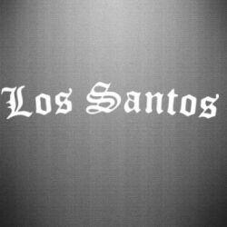 Наклейка Los Santos - FatLine