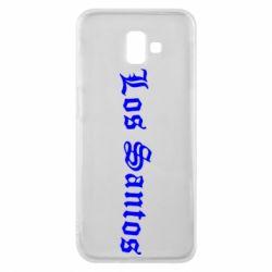 Чохол для Samsung J6 Plus 2018 Los Santos