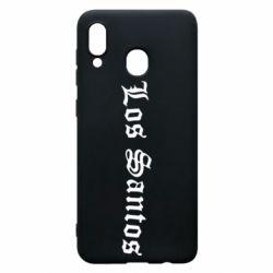 Чохол для Samsung A20 Los Santos
