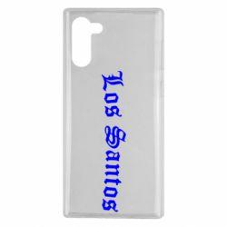 Чохол для Samsung Note 10 Los Santos