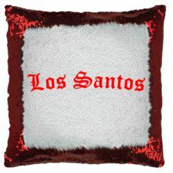 Подушка-хамелеон Los Santos