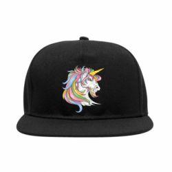 Снепбек Кінь з кольоровою гривою