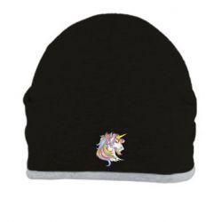 Шапка Кінь з кольоровою гривою