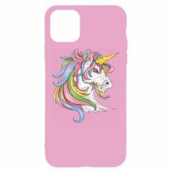 Чохол для iPhone 11 Кінь з кольоровою гривою