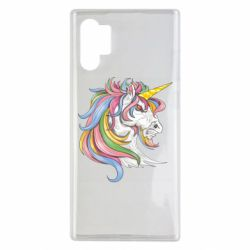 Чохол для Samsung Note 10 Plus Кінь з кольоровою гривою