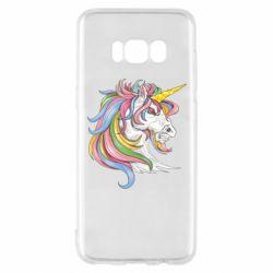 Чохол для Samsung S8 Кінь з кольоровою гривою