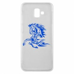 Чехол для Samsung J6 Plus 2018 Лошадь