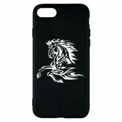 Чехол для iPhone 8 Лошадь