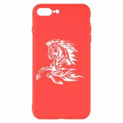 Чехол для iPhone 8 Plus Лошадь