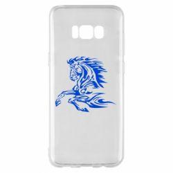 Чехол для Samsung S8+ Лошадь