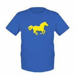 Детская футболка Лошадка - FatLine
