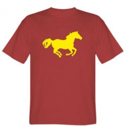 Мужская футболка Лошадка