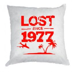 Подушка LOST since 1977 - FatLine
