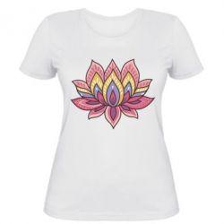 Женская футболка Lotus