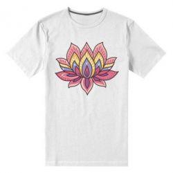 Мужская стрейчевая футболка Lotus - FatLine