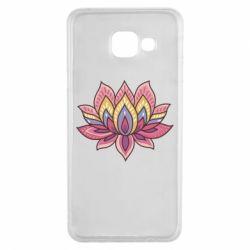 Чехол для Samsung A3 2016 Lotus - FatLine