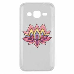 Чехол для Samsung J2 2015 Lotus - FatLine