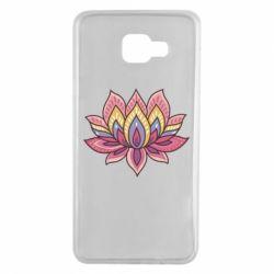 Чехол для Samsung A7 2016 Lotus - FatLine