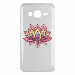 Чехол для Samsung J3 2016 Lotus - FatLine