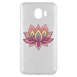 Чехол для Samsung J4 Lotus - FatLine
