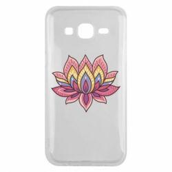 Чехол для Samsung J5 2015 Lotus - FatLine
