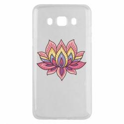 Чехол для Samsung J5 2016 Lotus - FatLine