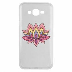 Чехол для Samsung J7 2015 Lotus - FatLine